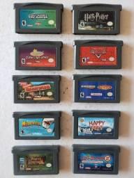 [Vendo/Troco] Lote jogos GBA Game Boy Advanced ORIGINAIS