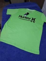 Camisa básica da Hurley P e M