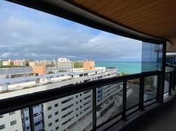 Apartamento beira mar da Pajuçara, 137m², 3 suites