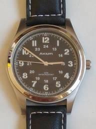 Título do anúncio: Relógio Akium pulseira couro