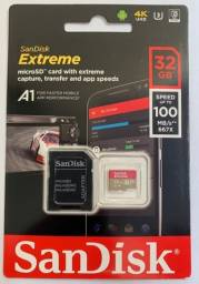 Micro SD 32GB Sandisk Extreme 100MB/s