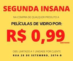 Título do anúncio: Películas de Vidro a R$ 0,99 Centavos