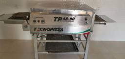Forno para pizza elétrico esteira