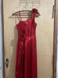 Vestido de festa vermelho M
