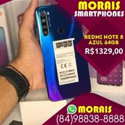 (Oferta Exclusiva) Redmi Note 8 64Gb Azul Boreal (LACRADO)