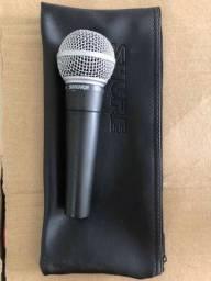 Título do anúncio: Microfone Shure sm58