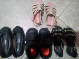 Lotes sapatos femininos