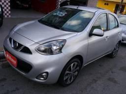 Título do anúncio: Nissan MARCH SL 1.6 16V Flex Fuel 5p