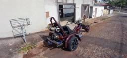 Título do anúncio: Triciclo motor de Fusca 1.500 ano 2014 impecável.