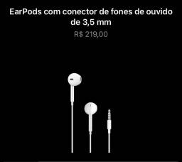 Fone original Apple novo