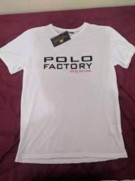 Camiseta Polo Factory - Club Polo Collection