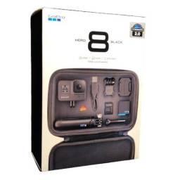 Câmera GoPro Hero 8 Black - Essencial Bundle