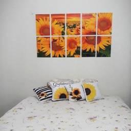 Kit quadros com 10 peças, em promoção