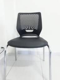 Cadeira fixa 4 pés - Plaxmetal