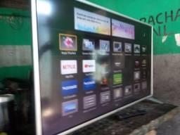 Smart TV Panasonic 43 polegadas completa com nota fiscal