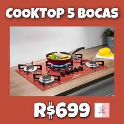 Cooktop 5 bocas cooktop 5 bocas real móveis