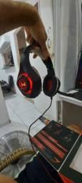 Headset warrior com caixa