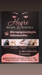 Micropigmentação de sobrancelha , Labial e revitalização