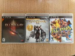 Jogos Playstation 3 - preços variados