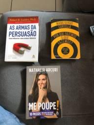 Livros muito novos R$15