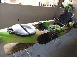 Caiaque Barracuda com cadeira adaptada