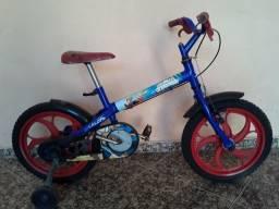 Bicicleta caloi homen aranha R$ 300