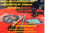 Multimídia 2 Din Mp7 Bluetooth Rádio Fm Mp3 Gps Tv Usb Touch