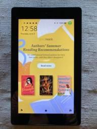 Tablet Amazon Fire 7 com Alexa 8gb (Preto) - Usado Pouquíssimas Vezes