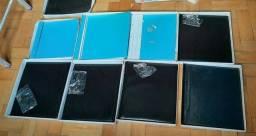 8 Capa para álbuns fotográficos para fotos ate 20x25 da marca universal com parafusos