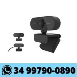 WebCam 1080p USB com Microfone Integrado