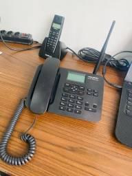 Telefone rural aquário CA-42S dual sim