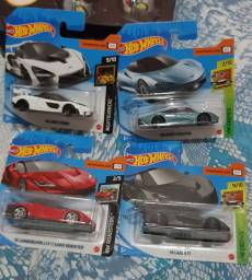 Hot wheels (McLaren e Lamborghini)