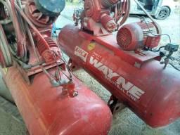 Compressor Wayne 40 pes trifásico industrial