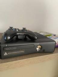 Título do anúncio: Xbox 360 com Kinect mais 7 jogos