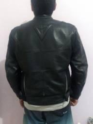 Jaqueta de couro 100%motoqueiros