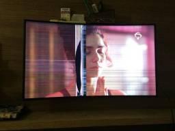 """SmartTV Samsung 49"""" tela curva com defeito"""