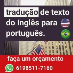 Tradução de ingles para portugues