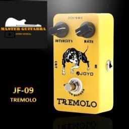 Pedal Joyo Tremolo Jf-09 Para Guitarra Violão/ brinde fonte 9Vx1A