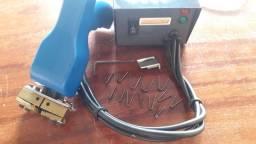Máquina frisadora chinelos