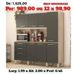 Grande Promoção MS- Armario de Cozinha-Kit de Cozinha Grande- Area Lazer