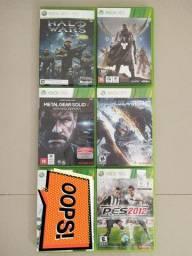 Jogos Originais Xbox 360 - Seminovos (Ac. Cartão)