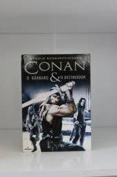 Dvd Original Conan : O bárbaro & o Destruidor 2 discos