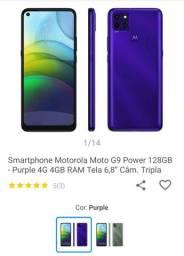 Moto G9 Power lançamento