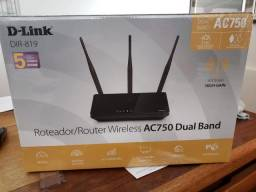 Roteador wireless 750 mbps