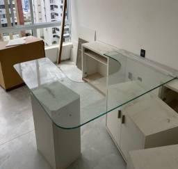 Título do anúncio: Tampo de 15 mm para mesa de escritório em excelente estado de conservação
