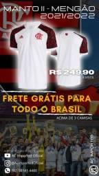 Título do anúncio: FRETE GRÁTIS PARA MANAUS! CAMISA DO FLAMENGO 2021/ 2022