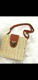 Vendo bolsa de palha