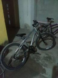 """Bicicleta caloi aluminio """"trocando por celular"""""""