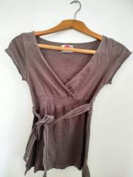 Título do anúncio: Blusa cache-coeur da Zara