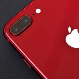 Título do anúncio: iPhone 8 Plus vermelho